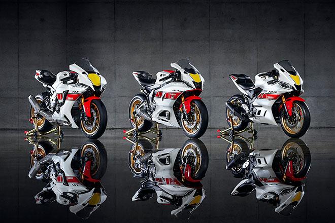 2022 YZF-R3 R7 R1 Anniversary Rocky Yamaha feature