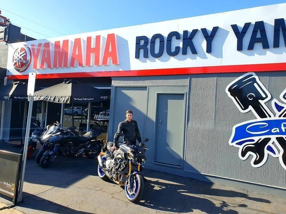 Rocky Yamaha Shop Front