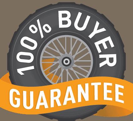 Rocky Yamaha 100% Buyer Satisfaction Guarantee Logo