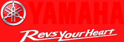 Yamaha Revs Your Heart Logo White